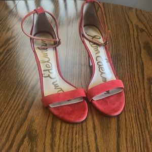 Sam Edelman red heels. 6.5